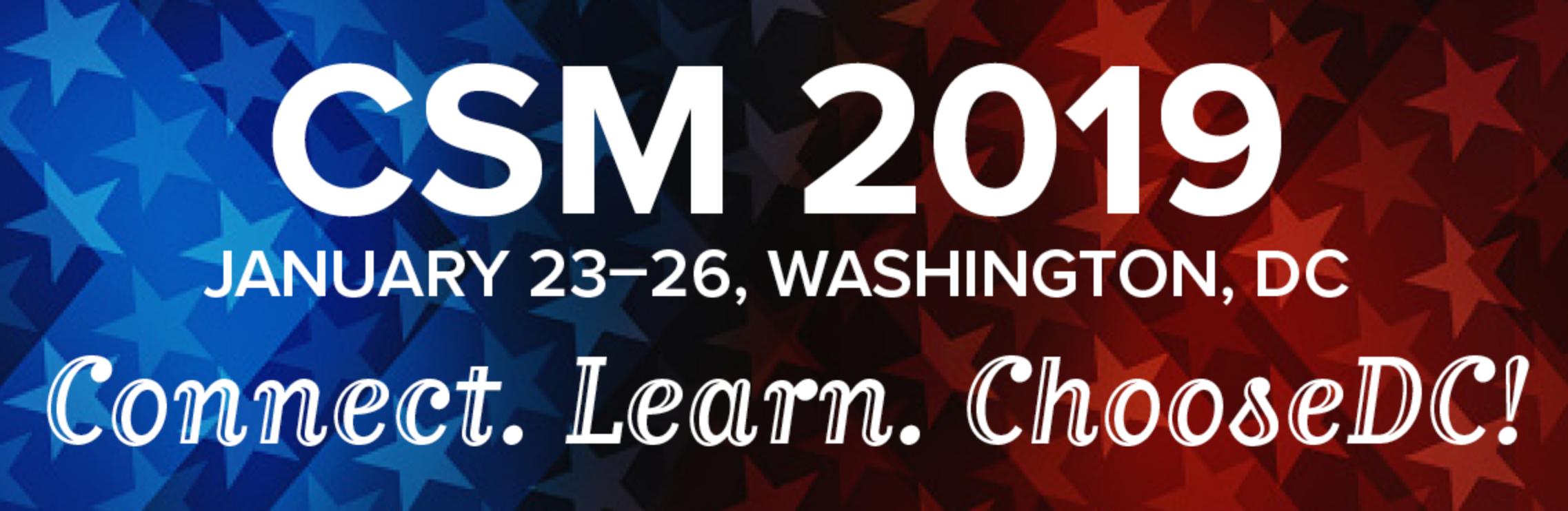 CSM 2019