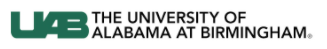Uni of Alabama at Birmingham